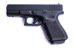 Gewehr getrennt auf weißem Hintergrund lizenzfreies stockfoto