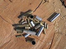 Gewehr-Messing Lizenzfreie Stockfotografie