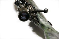 Gewehr mit Bereich lizenzfreie stockfotos