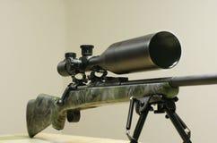 Gewehr mit Bereich Stockbilder
