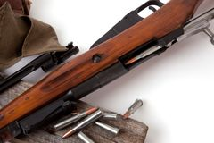 Gewehr Mosin Nagant Lizenzfreie Stockfotos