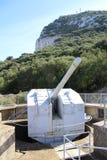 Gewehr-Stellung Stockfotografie