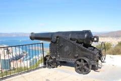 Gewehr-Stellung Lizenzfreies Stockfoto
