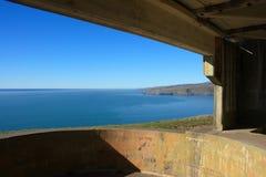 Gewehr-Stellung, Neuseeland. Lizenzfreies Stockfoto