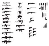 Gewehransammlung Lizenzfreie Stockfotos