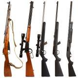 Gewehre Stockfoto