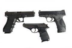 3 Gewehre lizenzfreies stockbild