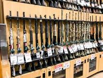 Gewehre für Verkauf Lizenzfreies Stockfoto