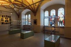 Gewehre im Schwerin-Schloss-Museum Stockbilder