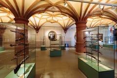 Gewehre im Schwerin-Schloss-Museum Lizenzfreie Stockfotos
