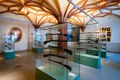Gewehre im Schwerin-Schloss-Museum Lizenzfreie Stockbilder