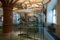 Gewehre im Schwerin-Schloss-Museum Stockfoto