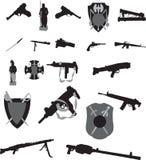 Gewehren stock abbildung