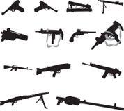 Gewehren lizenzfreie abbildung
