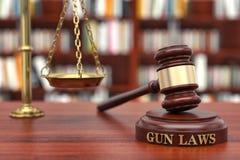 Gewehrgesetze Stockfoto