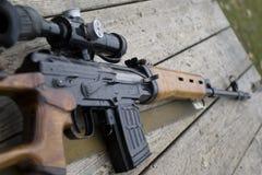 Gewehrgewehr Stockfoto