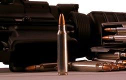 Gewehrgewehrkugeln Stockfoto