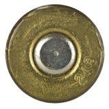 Gewehrkugel-Shellgehäuseunterseite stockfoto