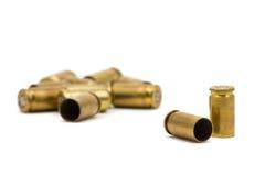 Gewehrkugelgehäuse Stockfoto