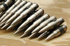 Gewehrkugelgurt Lizenzfreies Stockfoto
