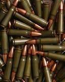 Gewehrkugelhintergrund Stockbild