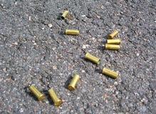 Gewehrkugelkästen Stockfotografie