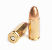 Gewehrkugeln Stockbild