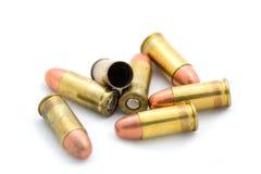 Gewehrkugeln. Lizenzfreie Stockfotos