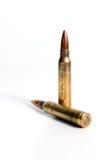 Gewehrkugeln Lizenzfreies Stockfoto