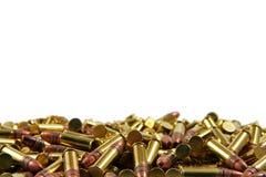 Gewehrkugeln an der Unterseite Lizenzfreie Stockfotografie