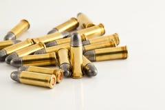 Gewehrkugeln für Gewehr Lizenzfreie Stockfotos