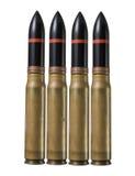 Gewehrkugeln - Kriegkonzept Stockfoto