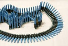 Gewehrmunition Stockfotografie