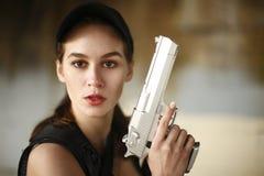 Gewehrsicherheit Lizenzfreies Stockfoto