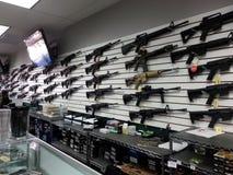 Gewehrwand Lizenzfreie Stockfotos