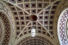 Gewelfd plafond royalty-vrije stock foto's
