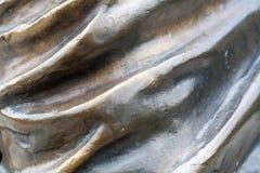 Gewellte Bronzebeschaffenheit Hintergrund Stockbilder