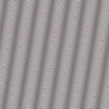 Gewellte, wogende, Ausflussrohre extrahieren Muster lizenzfreie abbildung