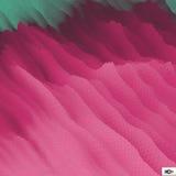 Gewellter Gitter-Hintergrund mosaik abstrakte Abbildung des Vektor 3d Lizenzfreie Stockbilder