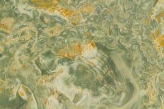 Gewellter grüner und gelber Granit lizenzfreies stockfoto