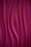 Gewellter Hintergrund der roten Beschaffenheit Innenwanddekoration Abstrakte Zeilen Lizenzfreies Stockfoto