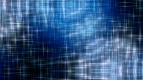 Gewellter sternenklarer Hintergrund stock footage