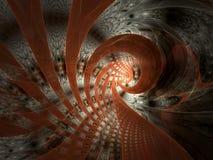 Gewervelde Abstracte Tegel Vector Illustratie