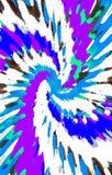 Geweven Achtergrond De vlekken divergeren van het midden in een spiraal aan de randen royalty-vrije illustratie