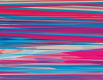 Geweven achtergrond met glitch effect CMYK colors Royalty-vrije Stock Fotografie