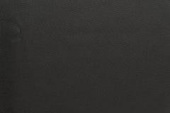 Geweven achtergrond van stoffen donkergrijze kleur Stock Fotografie
