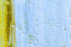Geweven Achtergrond van Verf en Oud Canvas Royalty-vrije Stock Foto