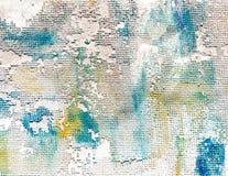 Geweven achtergrond van verf op canvas vector illustratie