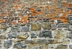 Geweven baksteen-muur Stock Foto's
