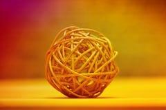 Geweven bamboekom Royalty-vrije Stock Afbeelding